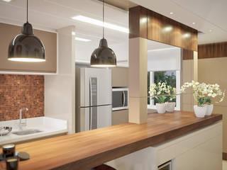 Cocinas de estilo moderno de studio vtx Moderno