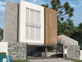Casas de estilo minimalista de studio vtx Minimalista