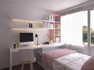 Moss arquitectura y mobiliario SAS Petites chambres Bois Rose