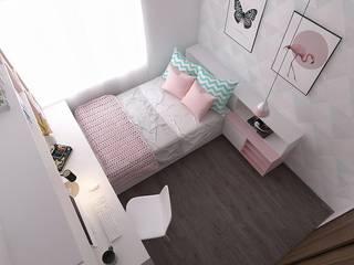 REMODELACIÓN APARTAMENTO  BARRIO COLINA:  de estilo  por Moss arquitectura y mobiliario SAS, Moderno