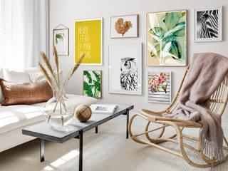 Composición Estar 01:  de estilo  por MASTINTA, Escandinavo