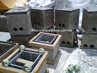 Paredes y pisos industriales de Triplay Plástico Industrial