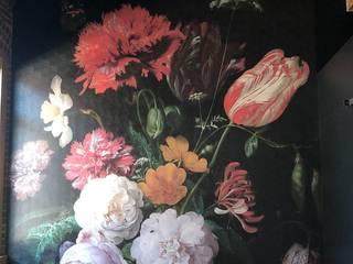 Custom Floral Wall Mural Project #1: modern  by Wallmur, Modern