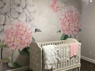 Custom Nursery Wall Mural Project: modern  by Wallmur, Modern