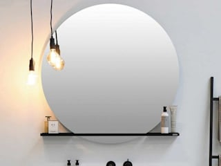 Badkamer met mat zwarte accenten van BadkamerXXL Industrieel