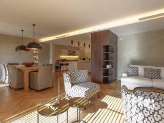 Cascais House 25 Salas de jantar modernas por Novostudio Arquitectos Moderno