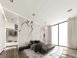 Modern Bedroom by Rebora Arquitectos Modern Marble