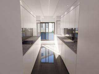 Benfica - Remodelação de Cozinha Cozinhas modernas por CA | PA Atelier Moderno