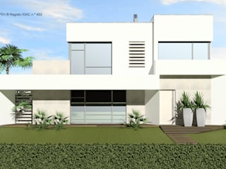 Single family home by ATELIER OPEN ® - Arquitetura e Engenharia, Minimalist