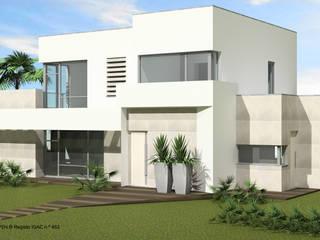 Villas de estilo  de ATELIER OPEN ® - Arquitetura e Engenharia, Minimalista