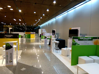 Modern exhibition centres by Faerman Stands y Asoc S.R.L. - Arquitectos - Rosario Modern