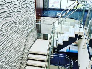 Revestimiento para pared 3D.OFICINAS Estudios y oficinas industriales de Wallartes3d Industrial