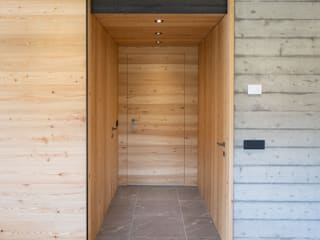 BEARprogetti - Architetto Enrico Bellotti Couloir, entrée, escaliers modernes