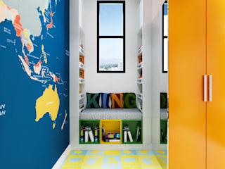 A kids room at sushant lok-2: eclectic  by Nityatelier,Eclectic
