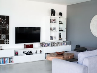 Private Villa In Umalas PT. Loutchou Living roomTV stands & cabinets MDF White
