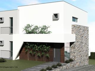 Casas de estilo  de ATELIER OPEN ® - Arquitetura e Engenharia, Moderno