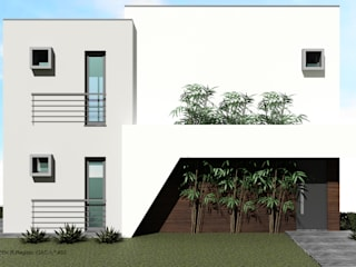 Prefabricated home by ATELIER OPEN ® - Arquitetura e Engenharia, Minimalist