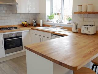 Kitchen Resurfacing in Ashford by Bridges Home Improvements Modern