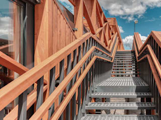 Alpbau Scandinavian style shopping centres Wood