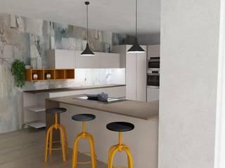Cucina Moderna Trento Cucina in stile industriale di G&S INTERIOR DESIGN Industrial