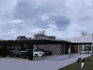 Casa 6 de Taller Once Arquitectura Minimalista