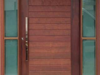Portas de madeira de alto padrão sob medida por Portas Jaraguá
