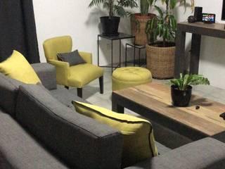 Diseño de living Salones minimalistas de Ideo Espacios Minimalista