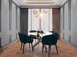 Modern dining room by M.arquitectura Modern