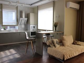 гостиная дома Гостиная в стиле минимализм от студия Минимализм