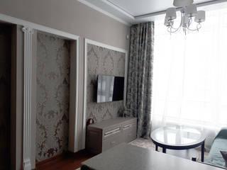 Небольшая квартира в стиле минимализм Гостиная в стиле минимализм от студия Минимализм