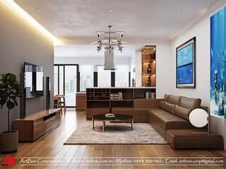 Thiết kế nội thất căn hộ chung cư Chính Kinh Thiết Kế Nội Thất - ARTBOX