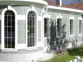 Частный дом в Ростовской области от Центр архитектуры и дизайна 'Freeдом'