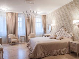 Квартира в Москве Студия текстильного дизайна 'Времена года' Спальная комната Текстиль Текстиль