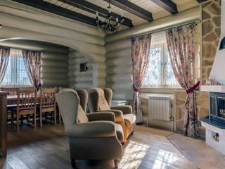 Дом из кедра Студия текстильного дизайна 'Времена года' ГостинаяАксессуары и декорации Текстиль