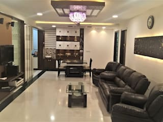Mr Ravi &Gayathri Sangaram @My Home Abhra Eclectic style dining room by Interiors Reborn Eclectic