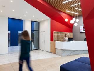 Интерьер МОП Radius Central House от CNTR Architects