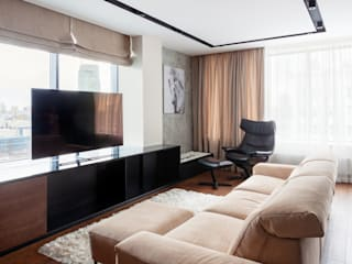 Интерьер квартиры R18-R19 в комплексе апартаментов Radius Central House от CNTR Architects