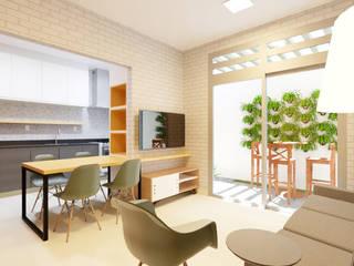 Coletivo 513 Salas de estar industriais por Beiral - Estudio de Arquitetura Industrial
