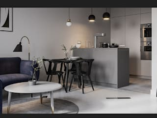 Arquitectura de interior!: Cocinas pequeñas de estilo  por mo estudio, Escandinavo