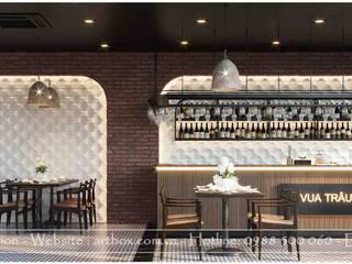 Thiết kế nội thất Nhà hàng Vua Trâu Kinh Bắc Thiết Kế Nội Thất - ARTBOX