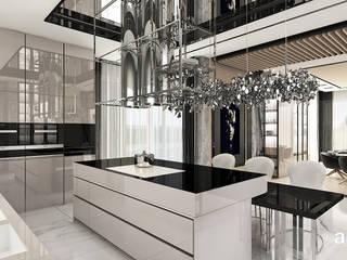 Cocinas de estilo  por ARTDESIGN architektura wnętrz, Moderno