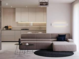 Industrial style kitchen by BeSense Studio Industrial
