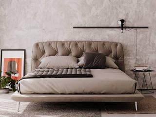 Industrial style bedroom by BeSense Studio Industrial