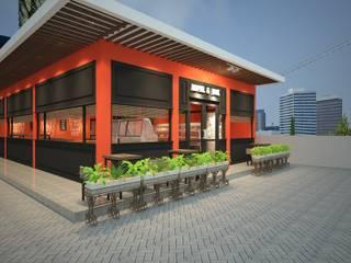 โดย Claire Interior Design & Building อินดัสเตรียล