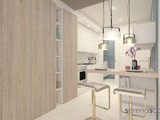 Casa di Amanda Cucina moderna di serenascaioli_progettidinterni Moderno