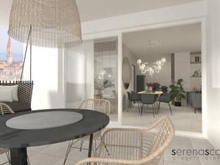 Casa di Amanda Balcone, Veranda & Terrazza in stile moderno di serenascaioli_progettidinterni Moderno