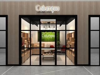 Columpio concept store (EN CONSTRUCCION): Centros Comerciales de estilo  por AUTANA estudio, Moderno