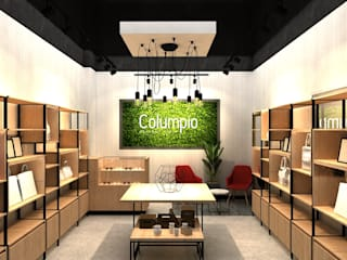 Columpio concept store (EN CONSTRUCCION): Espacios comerciales de estilo  por AUTANA estudio, Moderno
