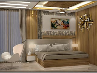 Guest Room by Inception Design Cell Modern