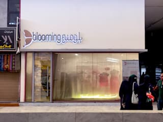 بلومنج Blooming:  محلات تجارية تنفيذ Anastomosis Design Lab, تبسيطي
